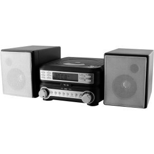Digital Products International - Gpx Hc221b Micro Hi-Fi System - Am, Fm - 2 Speaker(S) - Mp3 - Remote Control
