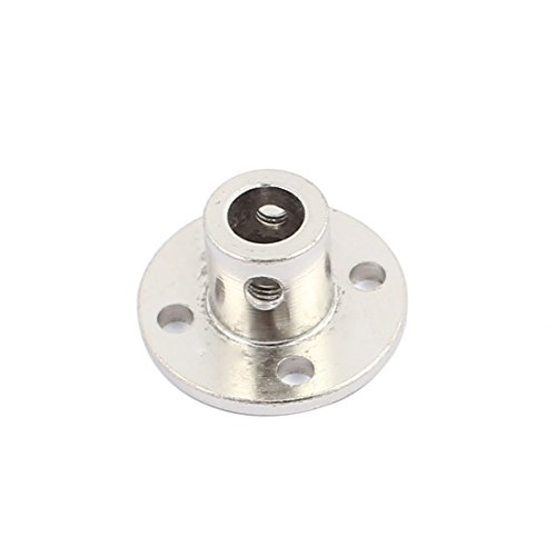 uxcell 6mm Rigid Flange Coupling Motor Guide Shaft Coupler Motor Connector for DIY Parts