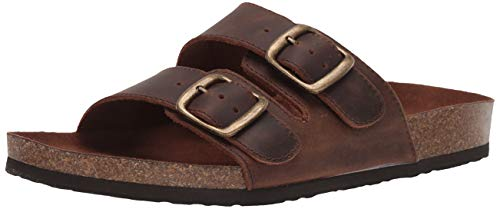 WHITE MOUNTAIN Women's Helga Slide Sandal, Brown, 9 M US from WHITE MOUNTAIN