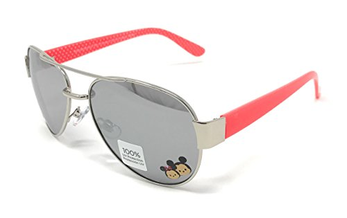 Disney Tsum Tsum Mirrored Aviator Girls Sunglasses 100% UV - Sunglasses Disney