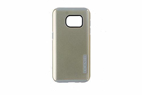 Price comparison product image Samsung Galaxy S7 case, Incipio DualPro, Hard Shell Case with Impact-Absorbing Core Shock-Absorbing Impact-Resistant Dual-Layer Cover  - Champagne/Light Gray