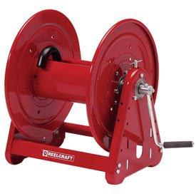 Heavy Duty Hand Crank Hose Reel, NO Hose, 1'' x 100' Capacity, 1000 psi