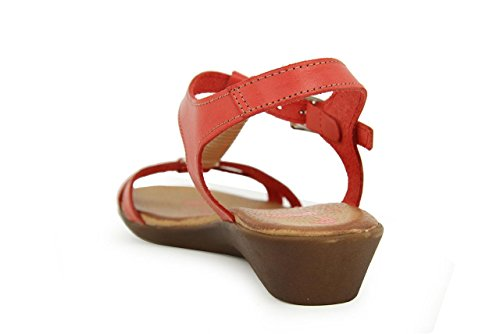 THIL TRADING - Sandalias de Vestir de Otra Piel Mujer