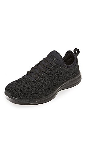 APL: Athletic Propulsion Labs Men's TechLoom Phantom Running Sneakers, Black/Black, 8.5 D(M) US