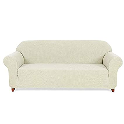 Prime Hokway Stretch Sofa Slipcovers 3 Cushion Couch Sofa Covers Couch Cushion Protector Covers Loveseat Off White Pdpeps Interior Chair Design Pdpepsorg