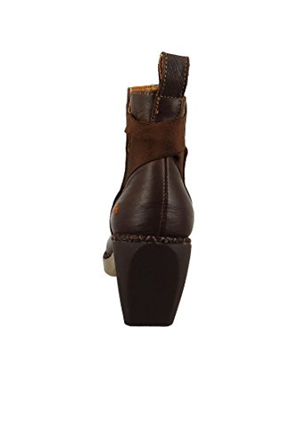 1152 Stiefelette Leder ART Boot Brown Braun Brown Ankle Madrid zpqwRS