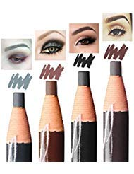 (Eyebrow Pencil Long Lasting Waterproof Easy To Color Durable Peel Off Pull Cord Brow Pen Makeup Cosmetic (gray))