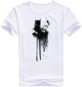 تي شيرت باتمان قبة دائرية -رجال