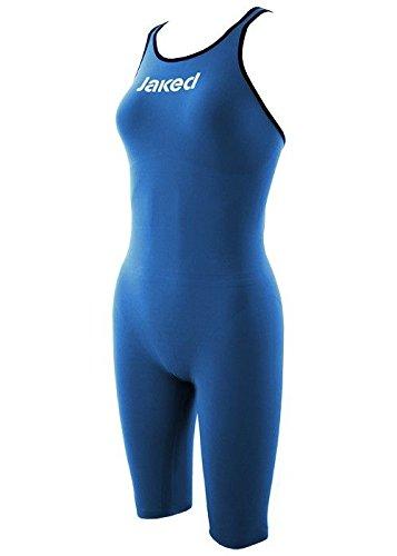 Jaked J Katana Knee Suit Open Back Ocean Blue イギリスサイズ20 B00FRJTJP6