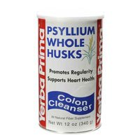 Psyllium Whole Husks - 12 oz ( Multi-Pack) by Yerba Prima