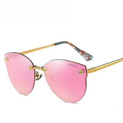 FeliciaJuan Metal Frame Vintage Style 100% UV Protection for Men Or Women