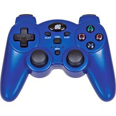 Dreamgear RADIUM WIRELESS CONTROLLER FORPS3 METALLIC BLUE SI (Video Game / PS3) (Metallic Blue Ps3 Controller)