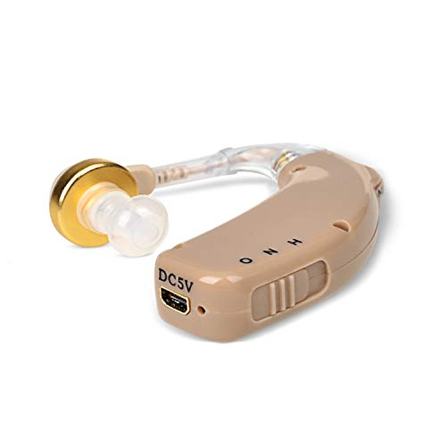 Read About BLJ Rechargeable Hearing Amplifier Aid Personal Sound Amplifiers Digital Noise Cancelling...