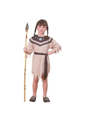 Rubie's Big Girls' Indian Girl Native American (Child Turkey Costume)