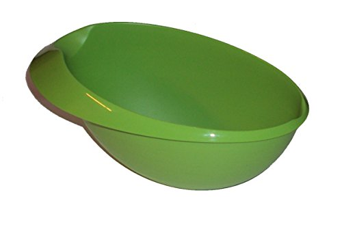 Tupperware 1.5L Saucy Server Large Prep Essentials Gravy Sauce Boat Bowl Green by Tupperware