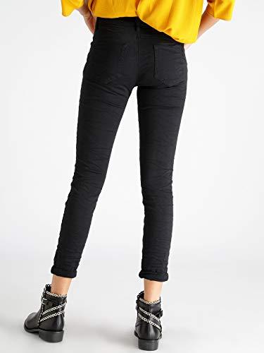 effetto Nero stropicciato jeans FIRE Pantaloni FIRE vwq6zx