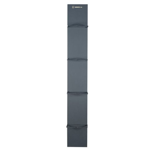 Black Box Vertical Rackmount IT Cable Manager 6''W, 48U, Double-Sided, Black by Black Box