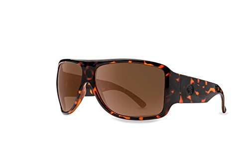 986ab460658 Filtrate Eyewear Asphalt II Polarized Sunglasses Gloss Tort   Brown Unisex