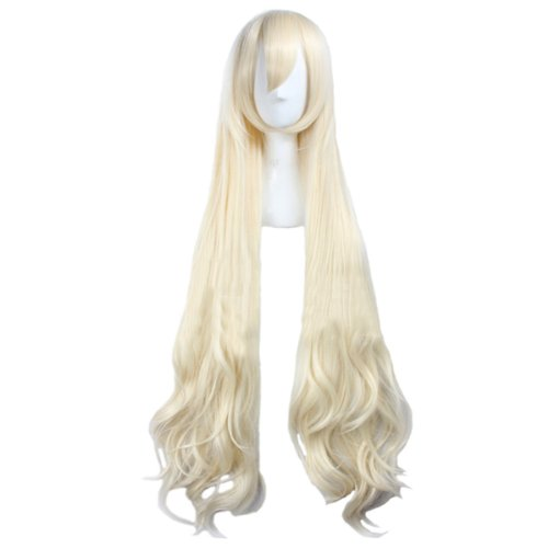 (Angelaicos Women's Fiber Wavy Party Costume Cosplay Wigs Long)