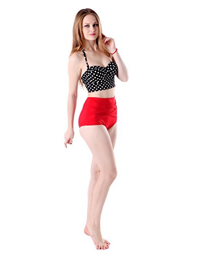 HDE Womens Vintage Swimsuit Bathing
