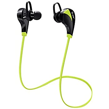 Bluetooth Headphones, TOTU Wireless Sports Earphones in Ear Earbuds W/Mic Noise Cancelling Secure Fit for Gym Running Workout (IPX5 Sweatproof, Stereo, ...