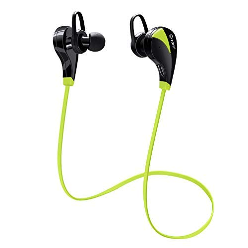 Bluetooth Headphones, TOTU Wireless Sports Earphones in Ear Earbuds W/Mic Noise Cancelling Secure Fit for Gym Running Workout (IPX5 Sweatproof, Stereo, 8 Hours Playtime)