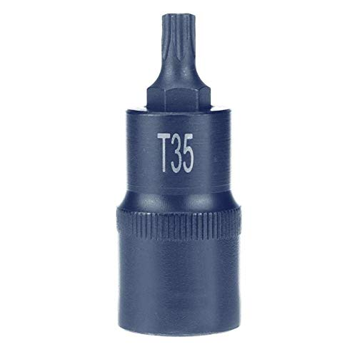 T20 Capsule - Connector T20 - T20 T25 T27 T30 T35 Torx Screwdriver Adapter Bit 1 2 Inch Socket Bits Drive Sockets Hand Repair - Stripped Tile Intermediate Glasses Screws Chain Remover Necklace Xenon N