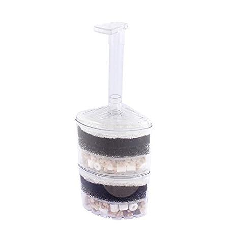 DealMux pecera de plástico Aire Impulsado esquina filtro de esponja Bump: Amazon.es: Productos para mascotas