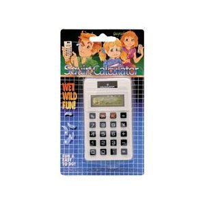 Squirt Calculator Novelty Item