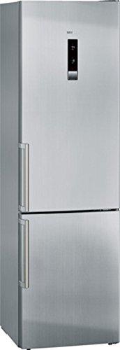 Siemens iQ500 KG39NXI42 Kühl-Gefrier-Kombination / A+++ / Kühlteil: 269 L / Gefrierteil: 86 Liter / Edelstahl / FreshSense / NoFrost / BottleRack