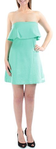 In Awe Of You Womens Ponte-Knit Fit & Flare Shift Dress mediterranianblue L - Juniors