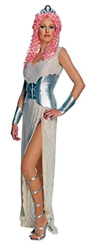 Rubies Womens Aphrodite Clash Of The Titans Greek Goddess Halloween Themed Dress, S (4-6) (Cheap Greek Goddess Costumes)
