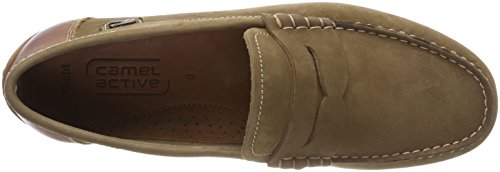 12 Nut camel Beige Men's Mocassins Yacht active Mud qpnpatT