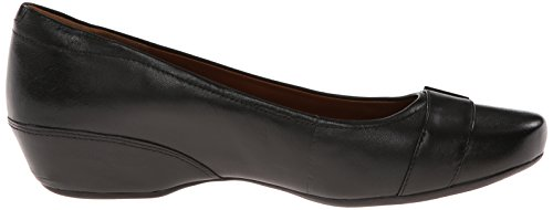 Leather Black Women's Clarks Concert Band wUXXIf