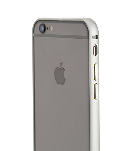 Aviato airZERO coque de protection type bumper en aluminium pour iPhone, 6s-gris