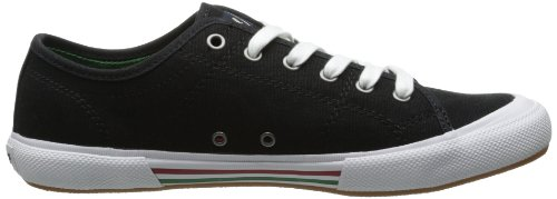 Fred Perry Vintage Tennis Canvas Black Green Black