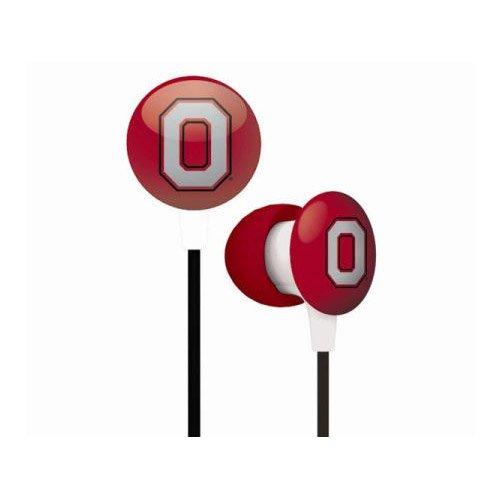 Ohio State Buckeyes Ear Buds product image