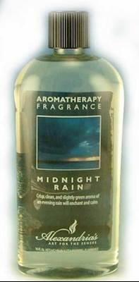 (Alexandria and Bella Breeze Fragrance Lamp Oil Refills - 16oz - MIDNIGHT RAIN)