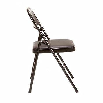Fabulous Amazon Com Mainstays Vinyl Chair Set Of 4 Black Chairs Creativecarmelina Interior Chair Design Creativecarmelinacom