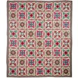 Yuletide Stars, Quilt Twin 65X 85