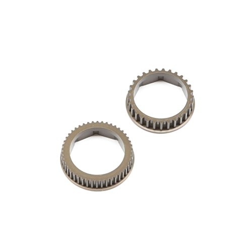 Team Losi Racing Aluminum Gear Diff Pulley Set: 22-4 2.0, TLR332062