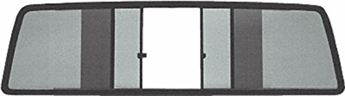 C.R. LAURENCE TSW1060S CRL Duo-Vent Four Panel Slider with Solar Glass for 1986-1/2 to 1997 All Nissan Cabs
