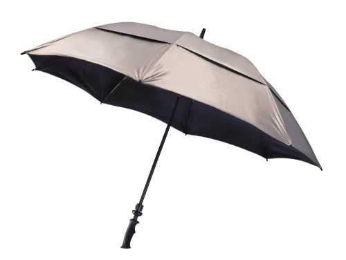 Bag Boy UV Wind Vent Golf Umbrella Silver