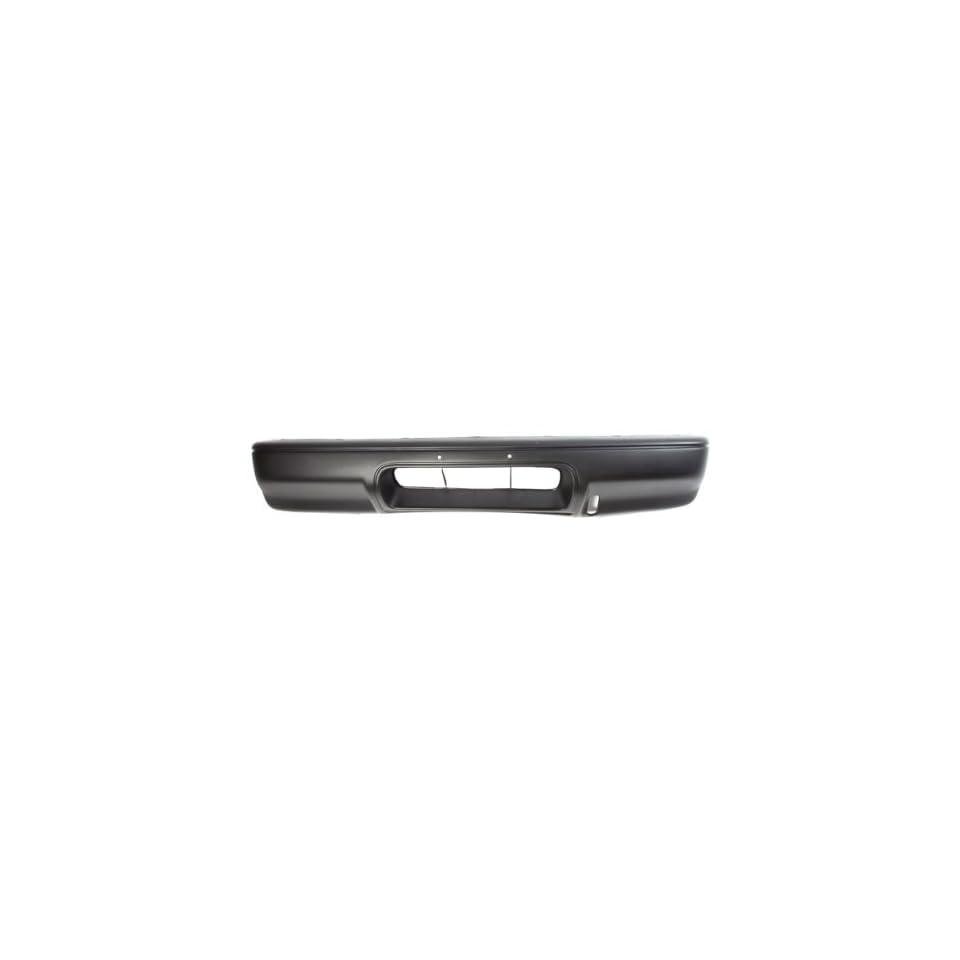 CarPartsDepot, Black Plastic Front Bumper Cover Replacement Assembly, 352 43425 10 BK SZ1000103 71700568115PK