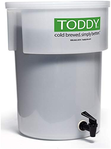 (Toddy Commercial Cold Brew System Coffee Maker With Lift and 52 Pack Filters)