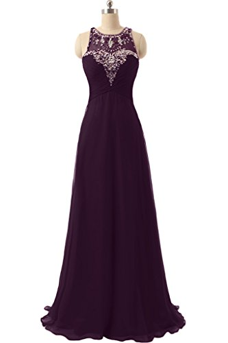 Missdressy - Vestido - plisado - para mujer morado 50