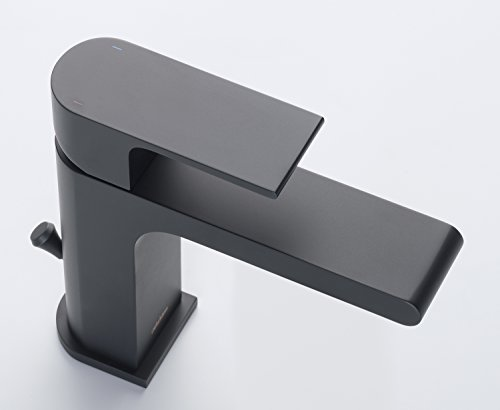 Stufurhome ST5001MB Monty Single Hole Faucet, Matte Black by Stufurhome (Image #1)