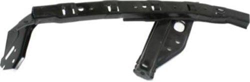 DAT 12-15 HONDA CIVIC BLACK UPPER FRONT BUMPER COVER BRACKET LEFT DRIVER SIDE HO1042105