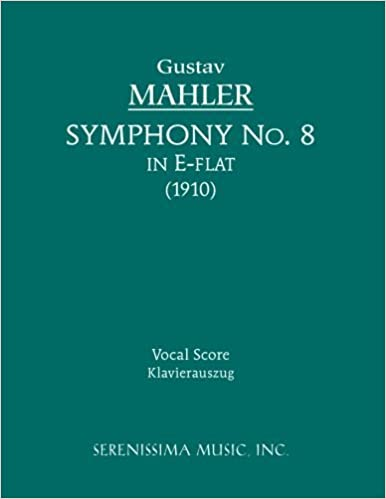Symphony No. 8 - Vocal score (Latin Edition) by Gustav