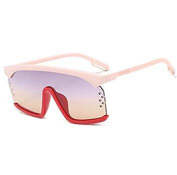 linfei Nuevas Gafas De Sol Siamesas De Moda Gafas De Ceja ...